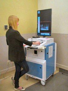Ultrasound study at PCC